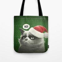 Grumpy Xmas Tote Bag