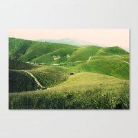 Monte Grappa, North Italy Canvas Print