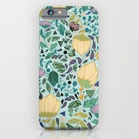 iPhone & iPod Case featuring Flower Pattern by Jo Cheung Illustration