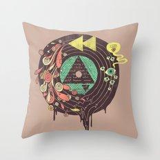 Subliminal Throw Pillow