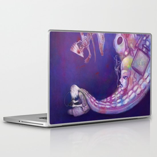 Brain Vomit Laptop & iPad Skin