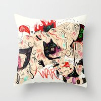 Wolfmother Throw Pillow