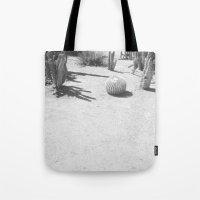 Cacti - in Black & White Tote Bag