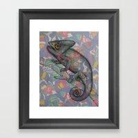 Chameleon(4) Framed Art Print