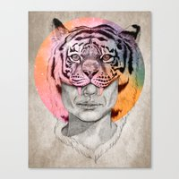 The Tiger Lady Canvas Print