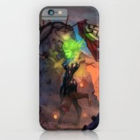 iPhone & iPod Case featuring Anne  Frankenstein - Book I by Lazy Bones Studios