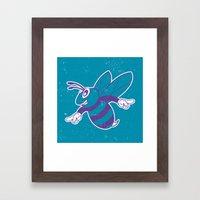 Buzz City Hornet by BEAST Framed Art Print