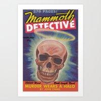 Mammoth Detective - Febr… Art Print