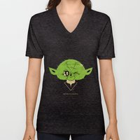 StarWars May the Force be with you (green vers.) Unisex V-Neck