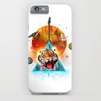 iPhone & iPod Case featuring ERR-OR: Tiger Connection by CAVA HDEER