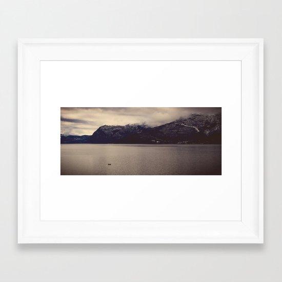 humble song Framed Art Print