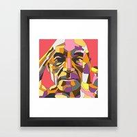 Xavier Framed Art Print