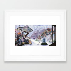 Rites of Passage Framed Art Print
