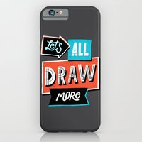 iPhone & iPod Case featuring Draw, More by Vaughn Fender