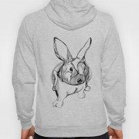 white rabbit Hoody