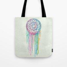 Watercolor Dream Catcher Tote Bag