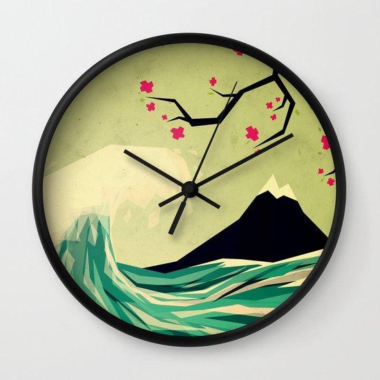 falling in love Wall Clock