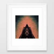 Graphic Building Framed Art Print