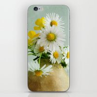 Daisies And Buttercups iPhone & iPod Skin