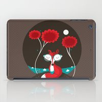 About a red fox iPad Case