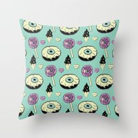 Spooky Sweets Throw Pillow