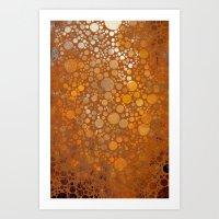 Autumn Atmosphere -- Abs… Art Print
