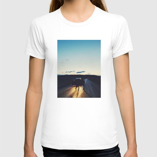 Bison in the Headlights T-shirt