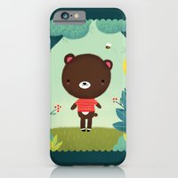 iPhone & iPod Case featuring Teddy  by emilydove