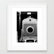 Polaroid 150 Framed Art Print