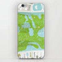 Totally Inaccurate Map O… iPhone & iPod Skin