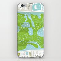 Totally Inaccurate Map of Gifford Pinchot State Park iPhone & iPod Skin