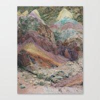 Calico Mountains Canvas Print