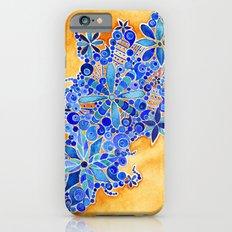 Blue Bouquet iPhone 6s Slim Case