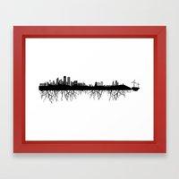 Skyline Roots Framed Art Print