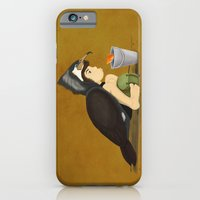 Little Black Cormorant iPhone 6 Slim Case
