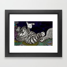 Cheshire Cat HiDef Framed Art Print