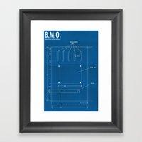 B.M.O. Entertainment Art… Framed Art Print