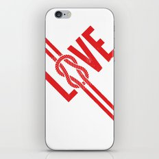 Love Knot (Red) iPhone & iPod Skin