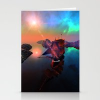ship Stationery Cards featuring Ship  by nicky2342