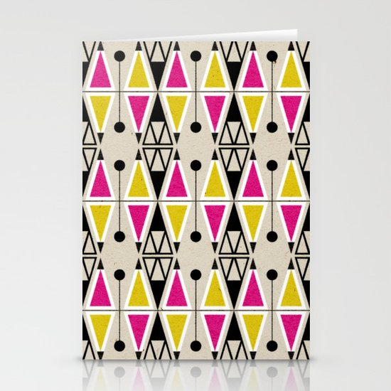 Geometrika: Jupiter MY Stationery Card