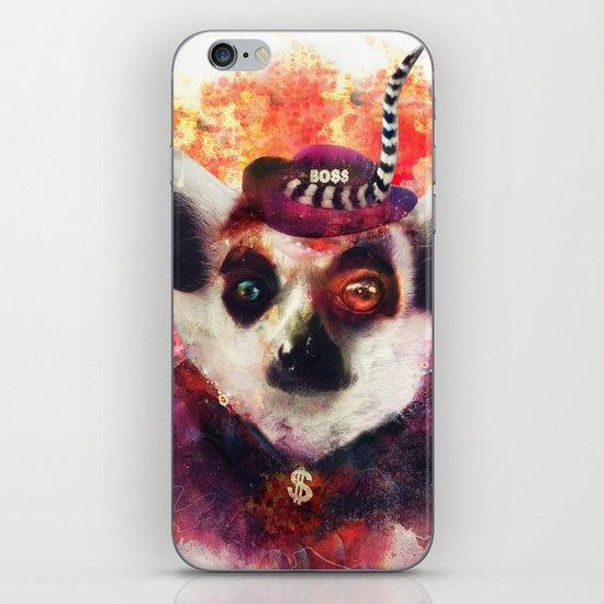Lemur ( The Pimp Le-Mur ) iPhone & iPod Skin