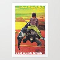 Pet Sounds Art Print