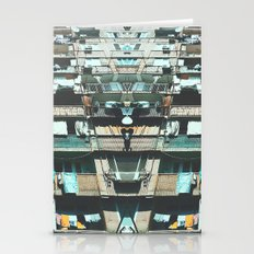 Tilting Urban Structure Stationery Cards