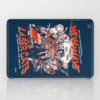 New Wave Laser Cats iPad Case