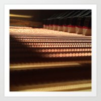 Inside The Baby Grand Art Print