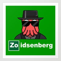 Zoidsenberg Art Print