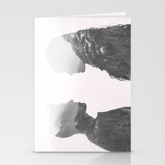 One in the Same Stationery Card