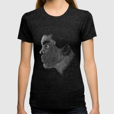 Mohamed Ali Womens Fitted Tee Tri-Black SMALL