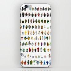 Pixel Wars iPhone & iPod Skin