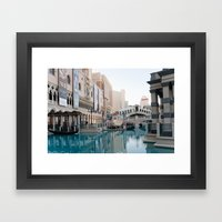 Venetian, Early Morning Framed Art Print